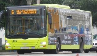 Bus gratuito y cortes de tráfico este viernes en Badajoz