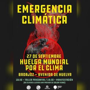 Badajoz se une a las movilizaciones mundiales por el clima del 20 al 27 de Septiembre