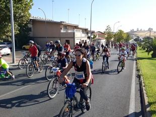 Más de 5.000 personas participaron en el Día de la Bicicleta