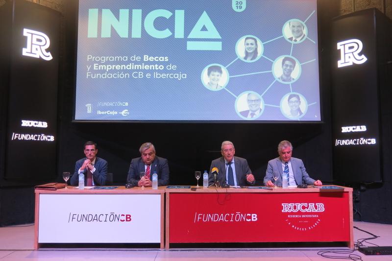 Presentado el Programa de Becas y Emprendimiento de Fundación CB e Ibercaja