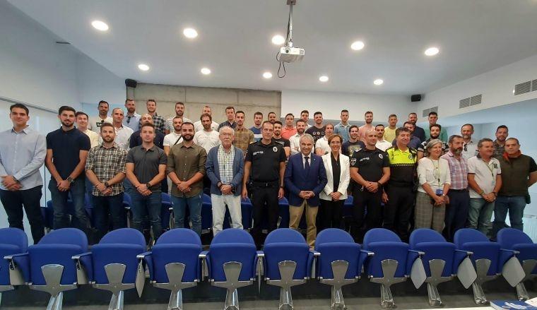 Toma de posesión de 35 nuevos agentes de la Policía Local de Badajoz