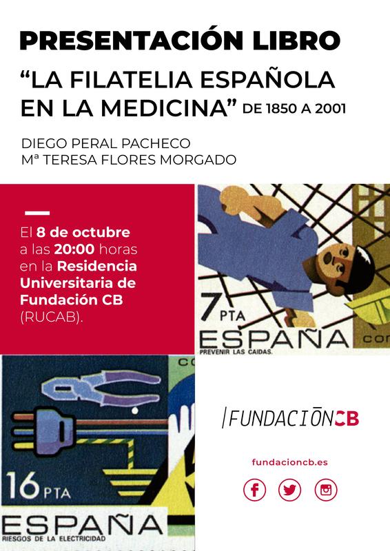 Diego Peral y María Teresa Flores presentarán ''La filatelia española en la medicina''