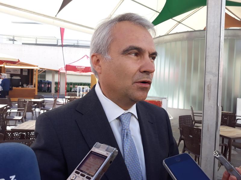 Fragoso pide a Vara un Centro de salud en las Vaguadas y un Instituto en Cerro Gordo
