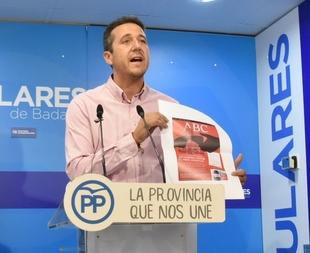 El PP presenta en la provincia de Badajoz una campaña electoral en positivo, calle a calle, ''pegada a las necesidades de los ciudadanos''