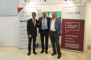 Fundación CB e Ibercaja firman un convenio con el COADE