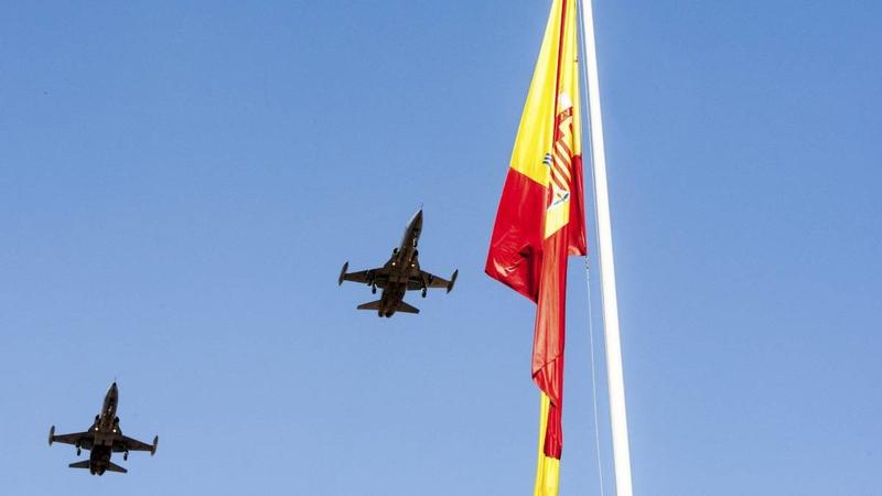 La Guardia civil celebra el día de la Fiesta Nacional de España y su Patrona la Virgen del Pilar