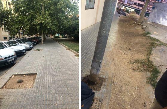 La barriada de Antonio Domínguez reclama salir del ''olvido municipal'' según el PSOE