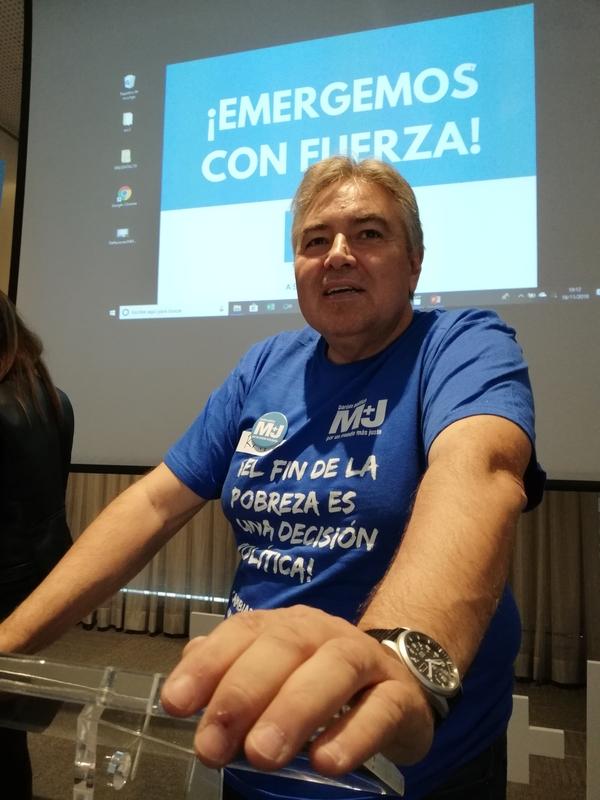 El partido Por Un Mundo Más Justo (M+J) tendrá presencia en las Mesas Electorales