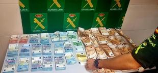 La Guardia Civil interviene 71.000 euros sin declarar, en la zona fronteriza hispano-lusa de Lopo