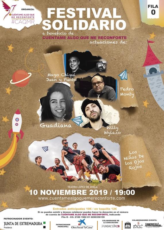 Festival solidario a beneficio de la asociación 'Cuéntame Algo que me Reconforte'