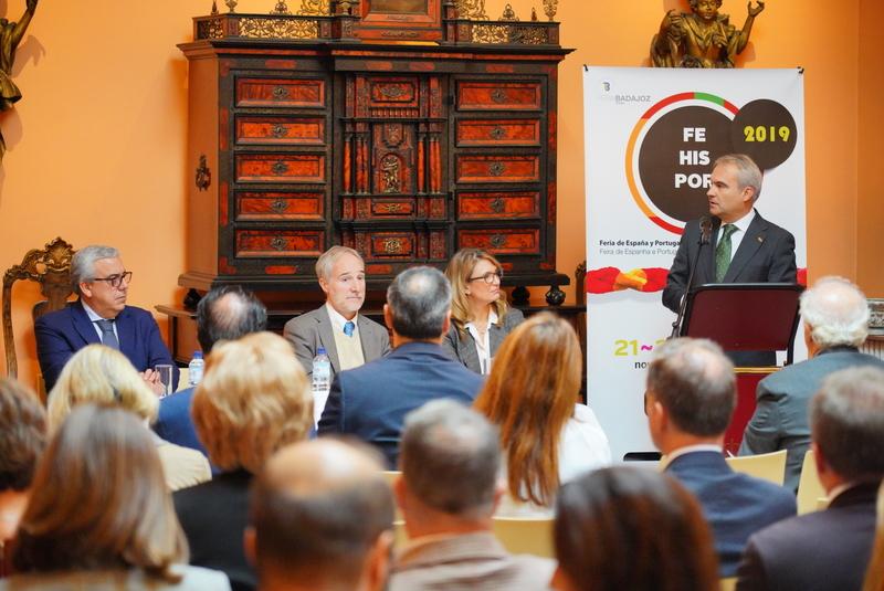 Fragoso presenta en Lisboa la 30ª Edición de Fehispor