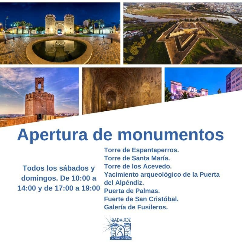 El programa 'Badajoz, la ciudad encendida' ofrece este fin de semana visitas guiadas o rutas ornitológicas