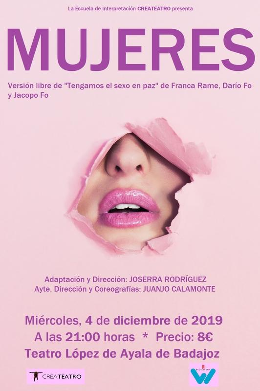 Createatro pone en escena en el teatro López de Ayala 'Mujeres'