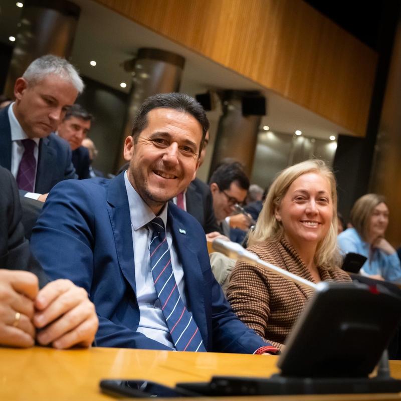 Angulo y Píriz piden a los diputados extremeños del PSOE en el Congreso que no traicionen el voto que les dieron los extremeños