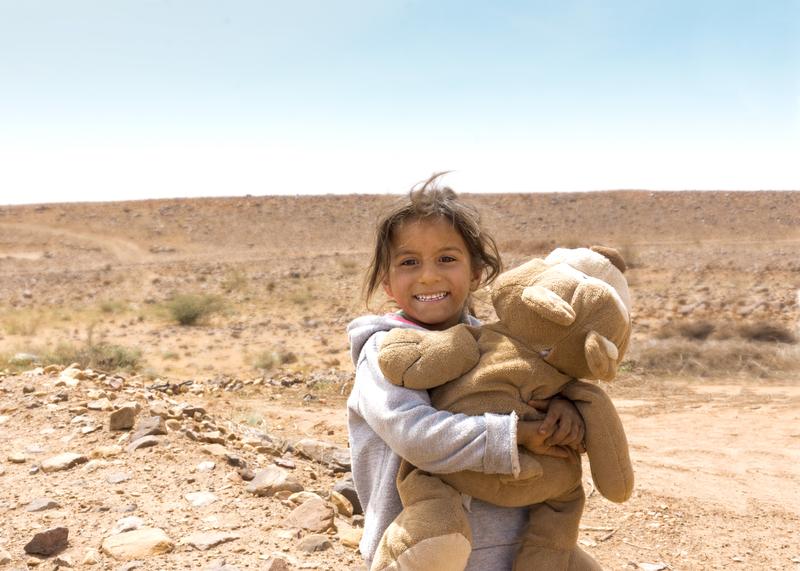 El Corte Inglés acoge del 7 al 15 de enero 'Sonrisas del Atlas', una selección de fotografías realizadas por María Rivera