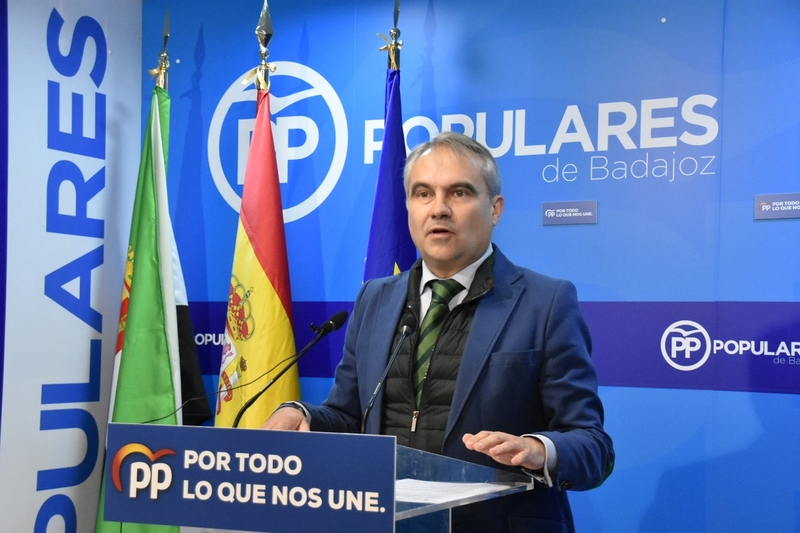 El PP presenta mociones en los ayuntamientos de toda la provincia de Badajoz y la Diputación para rechazar los pactos de Sánchez con ERC y Bildu