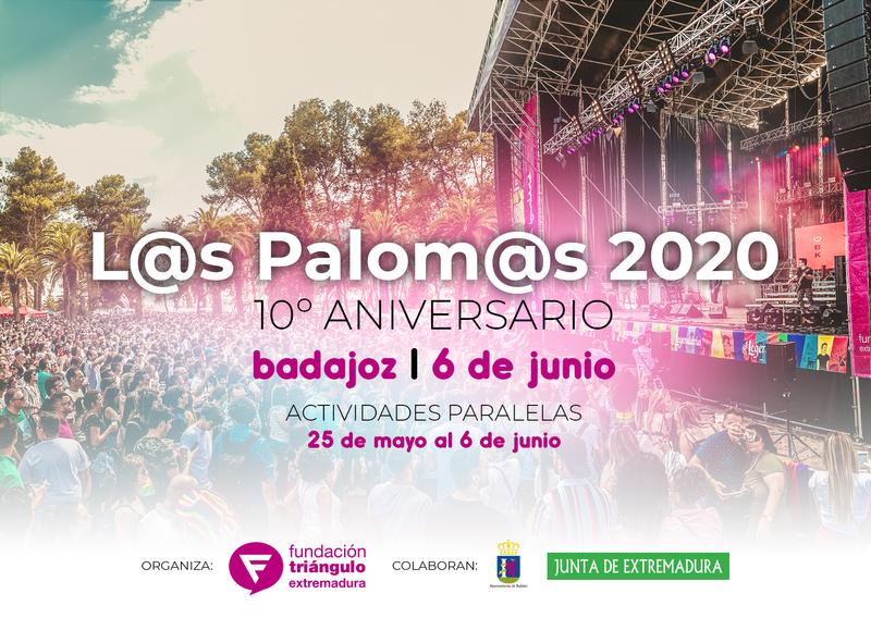 L@s Palom@s 2020 celebrarán su décima edición el 6 de junio