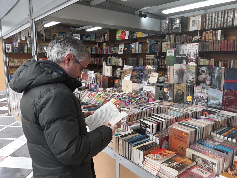 La Feria del Libro antiguo incorpora discos de vinilo