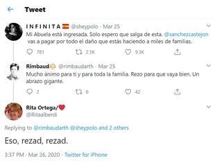 Ciudadanos exige a la concejala socialista Rita Ortega una rectificación pública por ''burlarse'' de las víctimas del Coronavirus