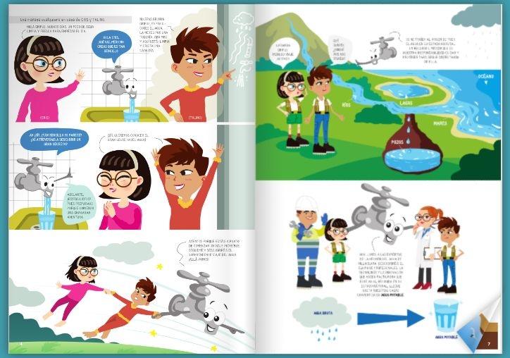 Juegos, comics y pasatiempos para niños