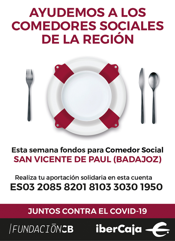 Fundación CB abre una cuenta corriente en Ibercaja para recaudar fondos dirigidos a la lucha contra el COVID