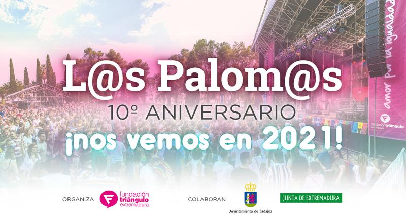 Se suspenden Los Palomos 2020, trasladando el décimo aniversario a 2021