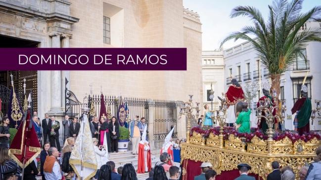 Badajoz recuerda la procesión de la Borriquita del año pasado