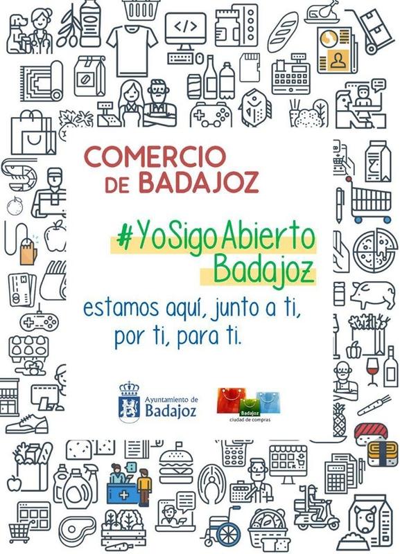 ¿Qué comercios siguen abiertos en Badajoz?