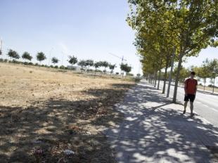 Arranca el desbroce del Plan Periurbano de Badajoz