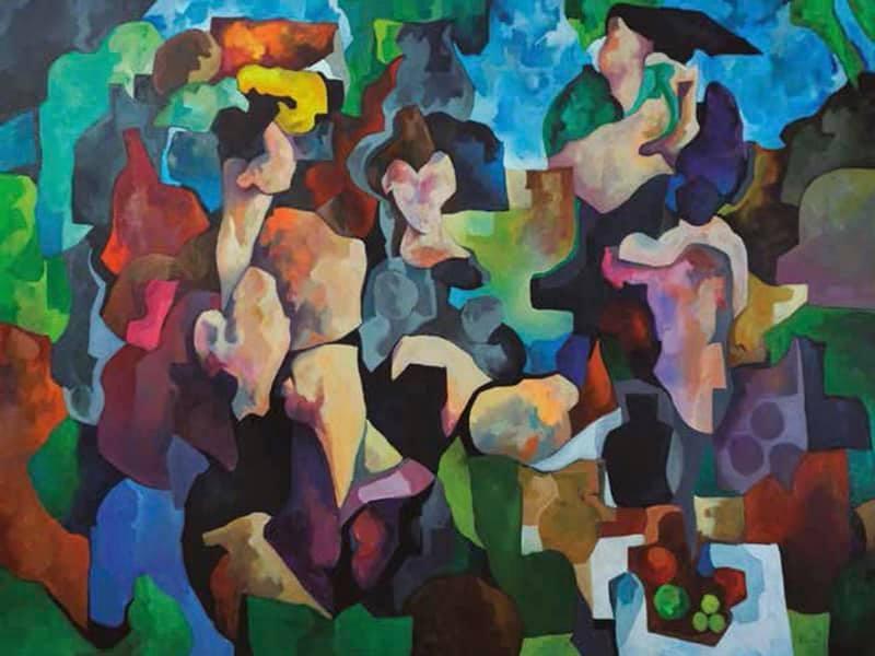 La exposición ''Síntesis'' de Francisco Vaz llega a la sala virtual de exposiciones
