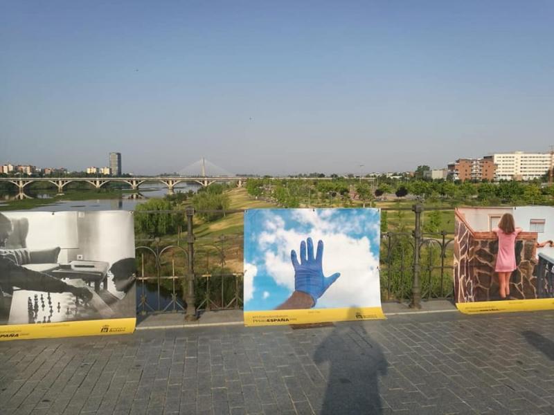 El Puente de Palmas se convierte hasta el 31 de Agosto en un gran balcón del arte