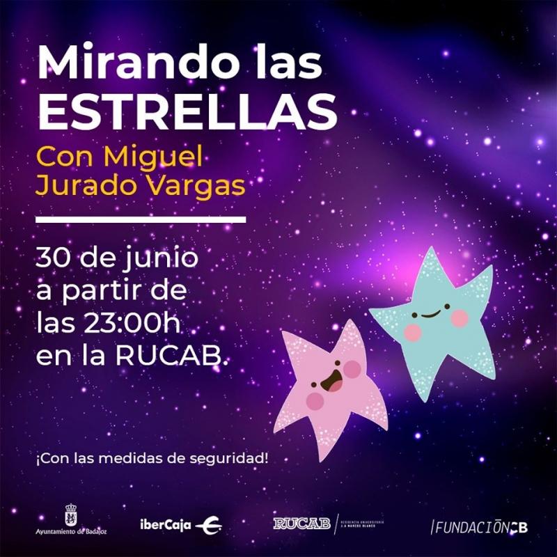 Este martes Badajoz ''mirará a las estrellas''