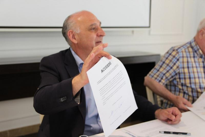 Sancho Bejarano y Ventura Pozo fusionan sus candidaturas a la presidencia de la FexF