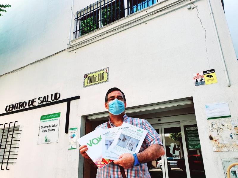 VOX solicita el traslado del Centro de Salud Zona Centro al Hospital Provincial San Sebastián