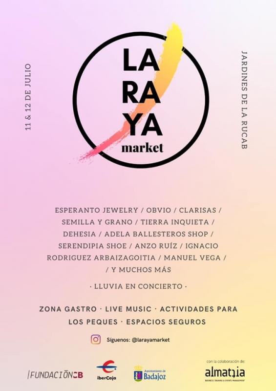Este fin de semana se abre un mercado con todo tipo de comercios 100% extremeños
