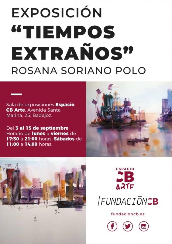 Nueva exposición de Rosana Soriano en Espacio CB Arte