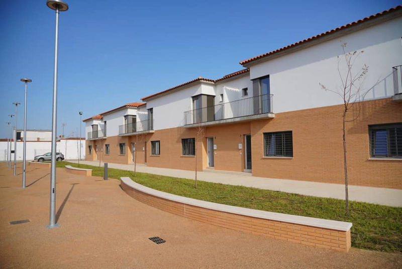 Fragoso visita la promoción de siete nuevas viviendas unifamiliares en Villafranco