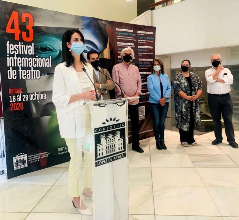 El 43 Festival Internacional de Teatro de Badajoz arranca el 16 de octubre