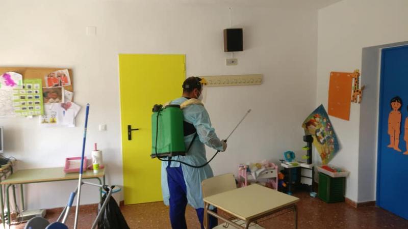 Ciudadanos Badajoz reclama a la Junta un fondo de contingencia en favor de los ayuntamientos para abordar la desinfección de los centros educativos