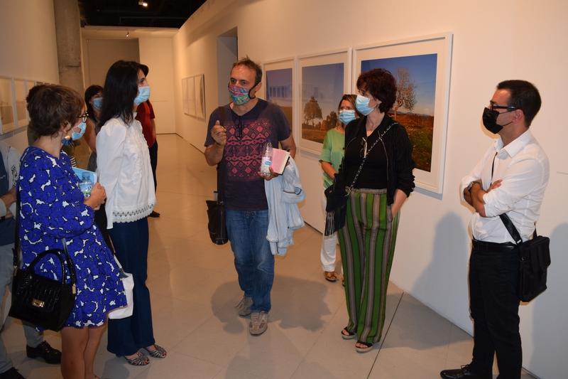 El MEIAC inaugura la muestra fotográfica de Andrés Talavero