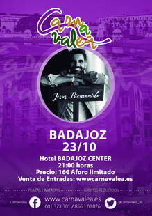 El músico Jesús Bienvenido visitará Badajoz el viernes 23