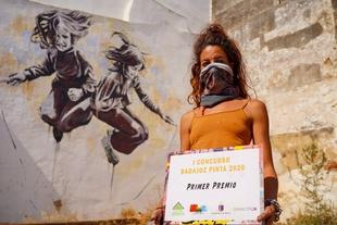 Ana Repullo, ganadora del I Concurso 'Badajoz Pinta'