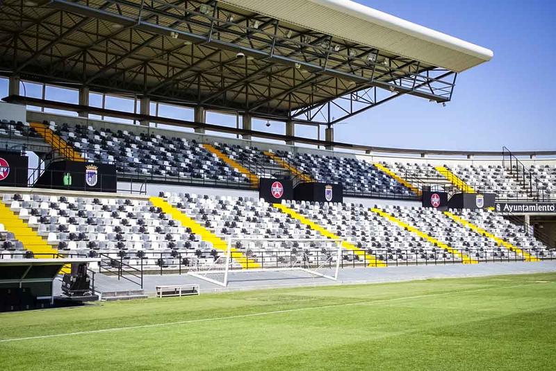 El convenio de cesión del estadio de fútbol Nuevo Vivero al C.D. Badajoz sigue su proceso de trámite administrativo