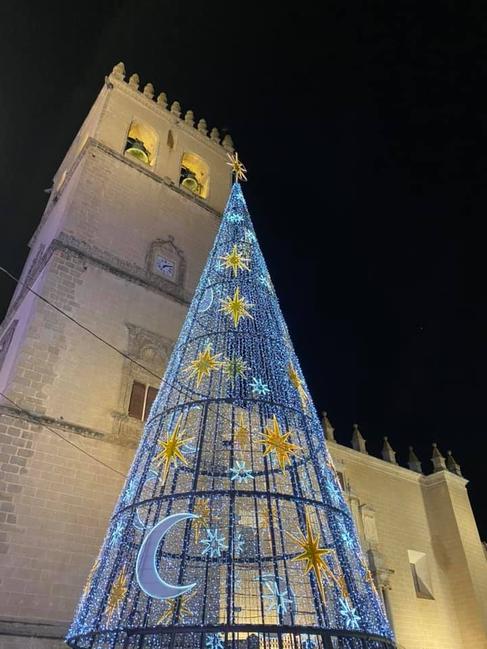 Badajoz enciende sus luces de Navidad por sorpresa