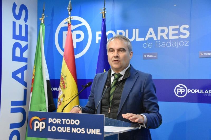 El PP de Badajoz considera que la petición del acta de diputada a la alcaldesa socialista de Alburquerque es tan solo una medida ''cosmética''