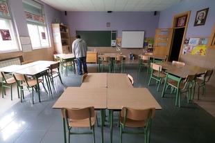 En la región hay actualmente 159 aulas de Infantil y Primaria cerradas