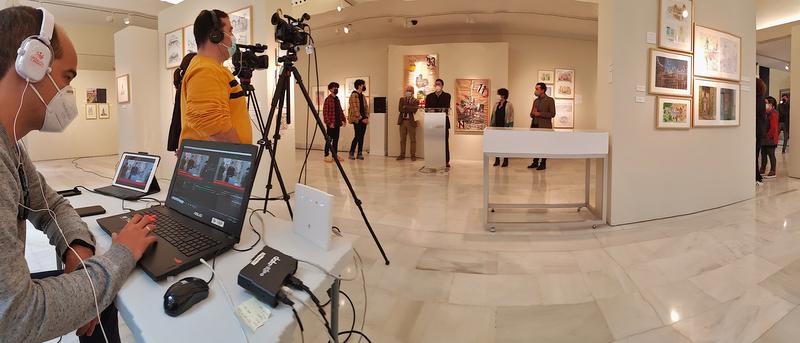 Inaugurada la exposición 'Art Matters: miradas sobre el cuidado del Patrimonio'