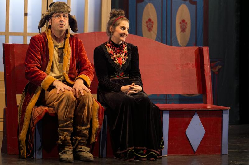Este sábado se representa la obra de Chéjov 'Una comedia rusa'