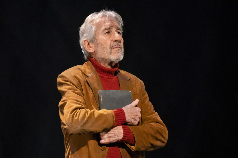 El actor José Sacristán actúa en Badajoz este viernes