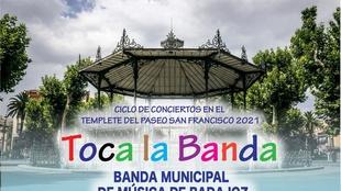 El Concierto del ciclo ''Toca la Banda'' cambia hoy el templete del paseo de San Francisco por el Teatro López de Ayala